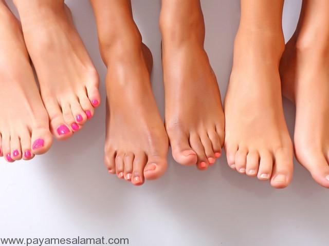 نکاتی مهم برای نگه داری و تمیزی پاها