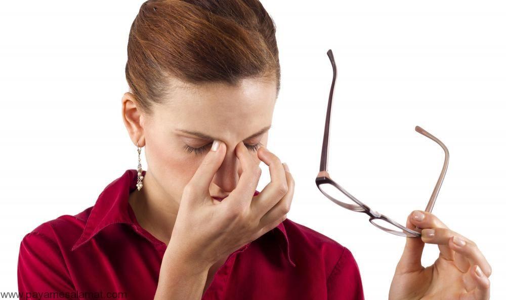 درمان طبیعی چشم های خسته، متورم و کبود