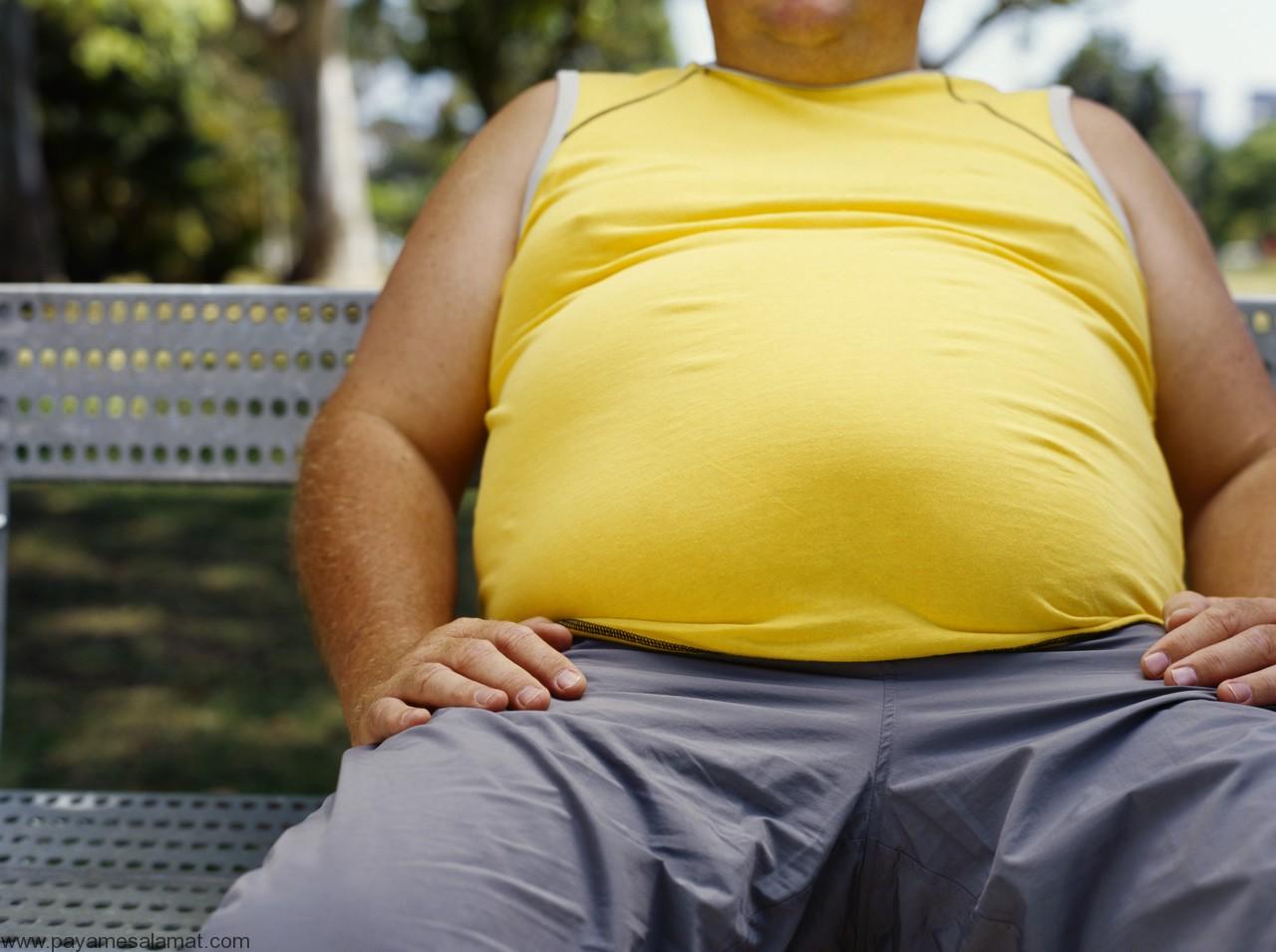 شکم تان بزرگ است؟