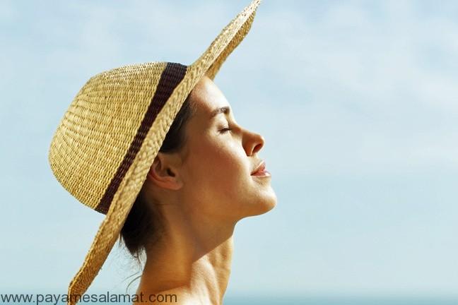 مواد غذایی برای جلوگیری از آسیب های پوستی خورشید