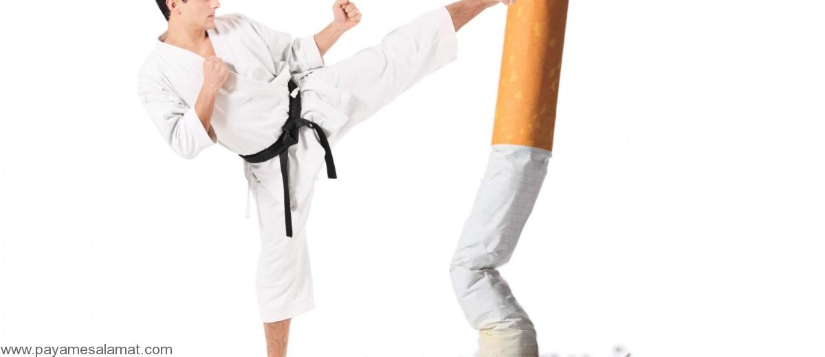 ترک سیگار با ورزش کردن راحتتر میشود