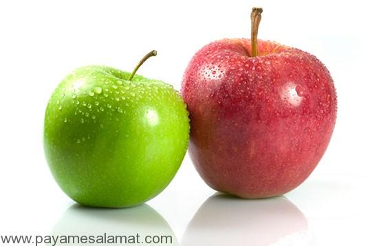 خواص معجزه آسای سیب و پوست سیب