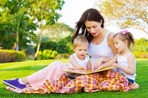 برای نوزادان خود کتاب بخوانید