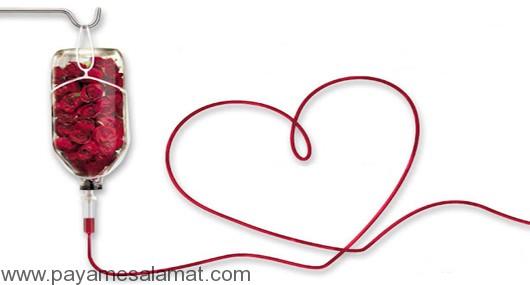 مراسم بزرگداشت هفته انتقال خون