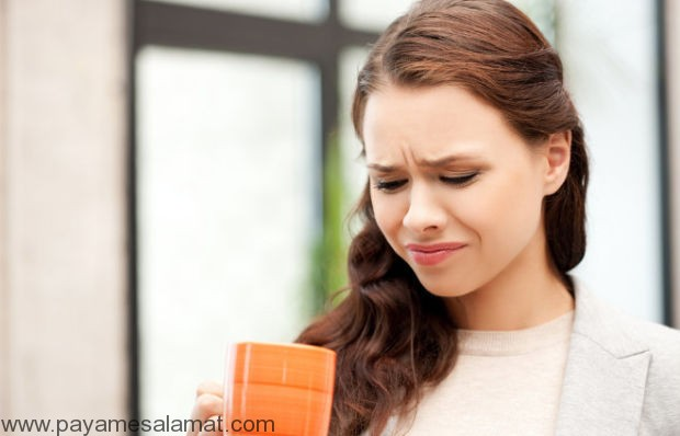 تلخی دهان علل و راهکارها