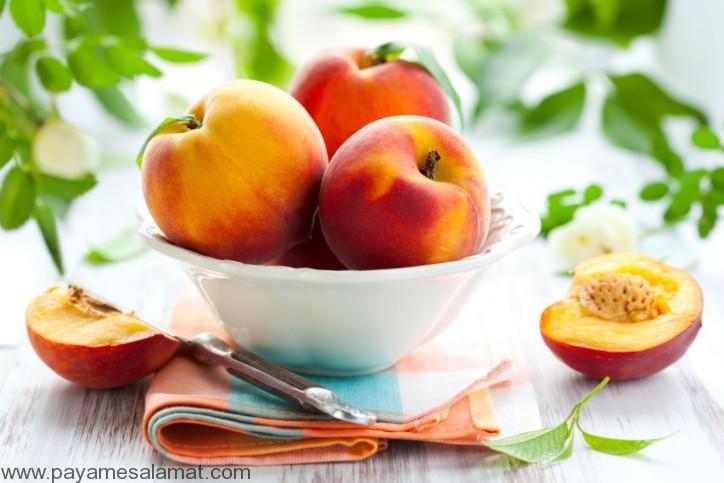 خواص هلو - درّاق - Peach
