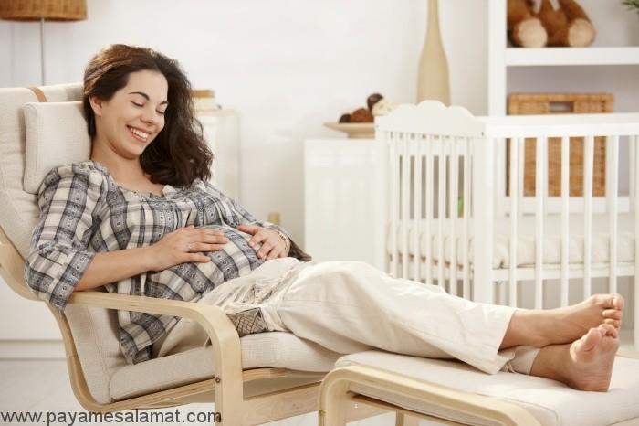 استراحت مطلق بارداری