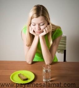 در مورد بی اشتهایی عصبی چه می دانید؟