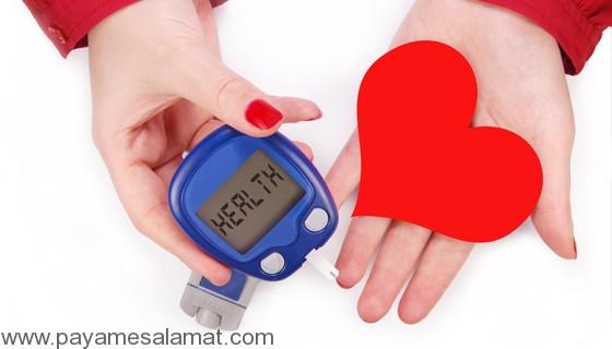 ارتباط دیابت و بیماری های قلبی