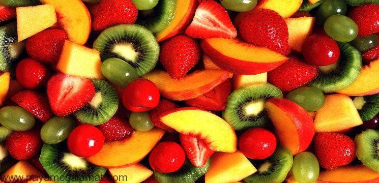 ساختار و نقش غذایی میوه ها