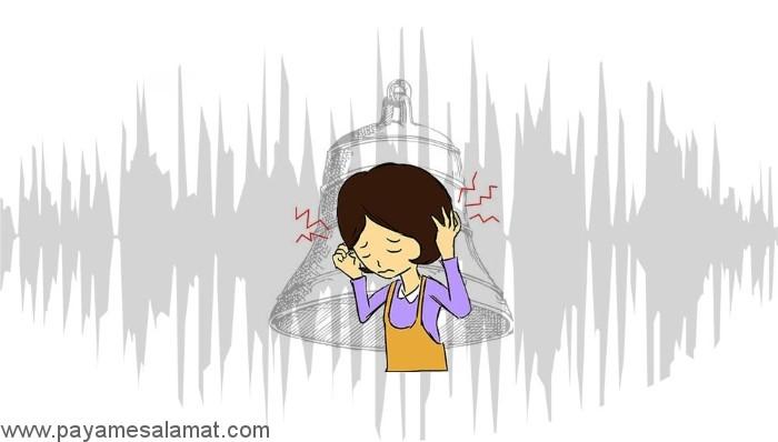احساس صدای وزوز یا سوت در گوش
