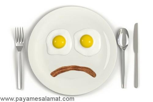 اشتباهات رایج در رژیم های غذایی