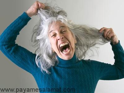 عللی که باعث سفیدی مو می شوند