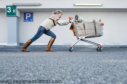 کارهای خانه و کالری مصرفی
