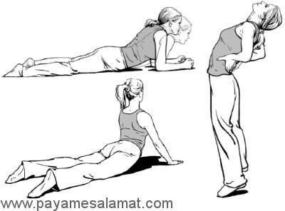 موثرترین ورزش ها برای درمان کمر درد
