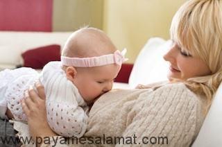 ارتباط تغذیه مادر و کاهش حساسیت در نوزاد