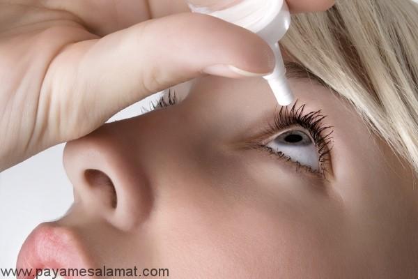 درمان طبیعی برای خشکی چشم