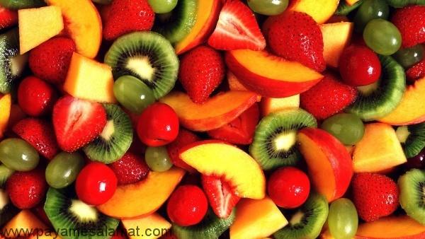 جدول میزان کالری میوه ها