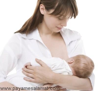 درمان مشکلات پستان در دوران شیردهی