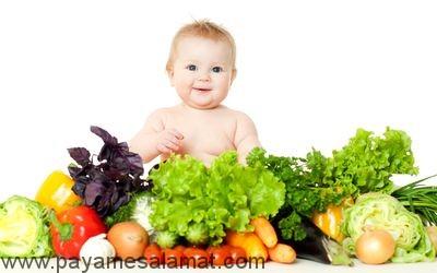 راهنمای مصرف غذاهای مکمل برای نوزاد