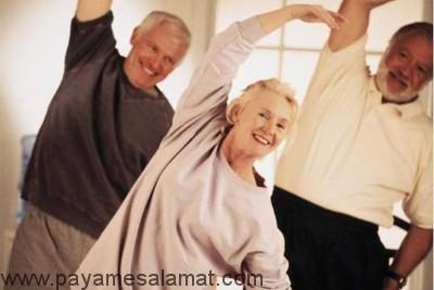 فواید ورزش برای آرتروز