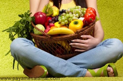 از ویژگی های رژیم غذایی سالم بشنوید