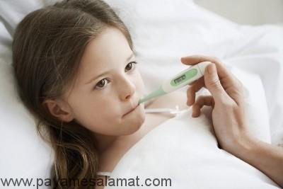چه زمانی تب در کودکان نگران کننده است؟