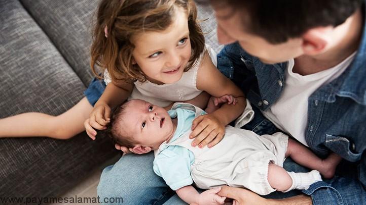 راه های کنترل کج خلقی های فرزند اول در مقابل تولد نوزاد دوم