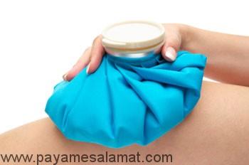 گرما درمانی یا کمپرس آب گرم
