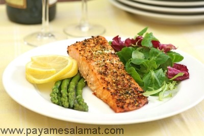 برنامه غذایی با کربوهیدرات کم و پروتئین بالا