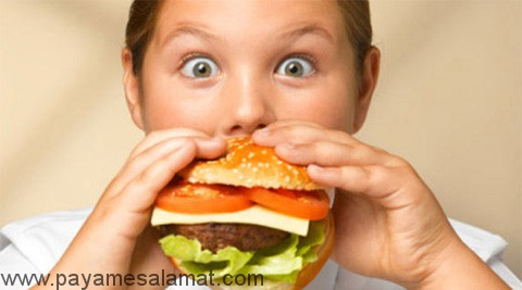 چاقی و غذاهای غیر خانگی