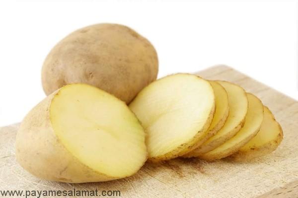 درمان های خانگی با استفاده از سیب زمینی خام