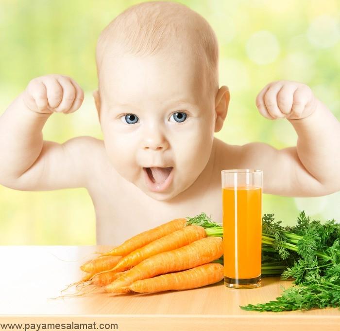 تغذیه کودکان ۱ الی ۲ ساله