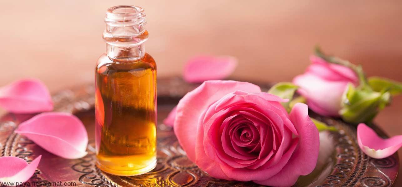 چگونگی استفاده از روغن گل رز برای صورت و مو