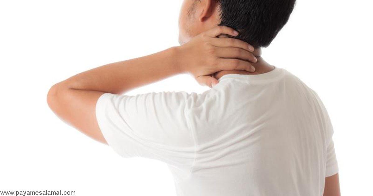 درمان گرفتگی گردن در یک دقیقه