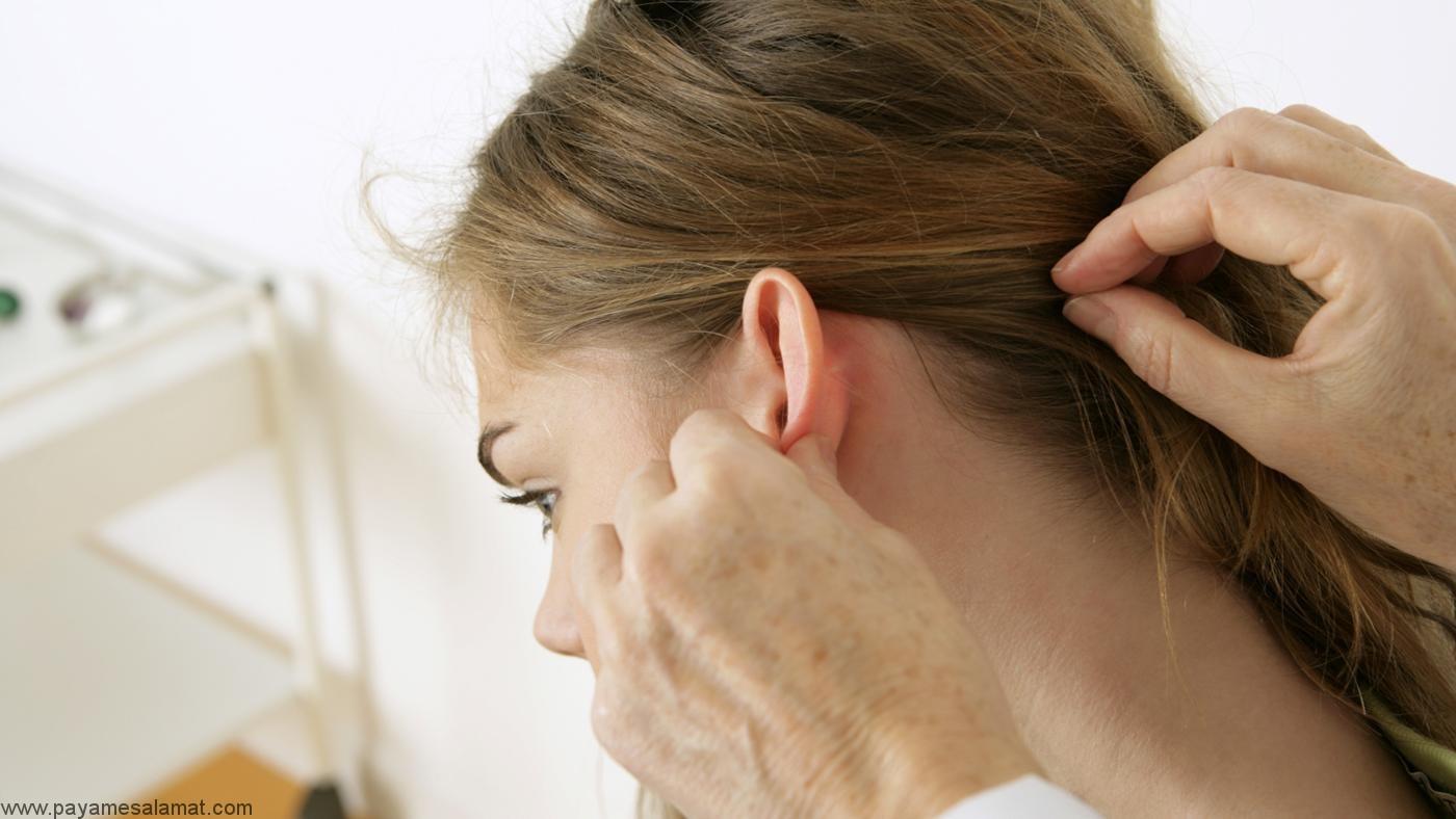 درمان های و علل ایجاد غده پشت گوش