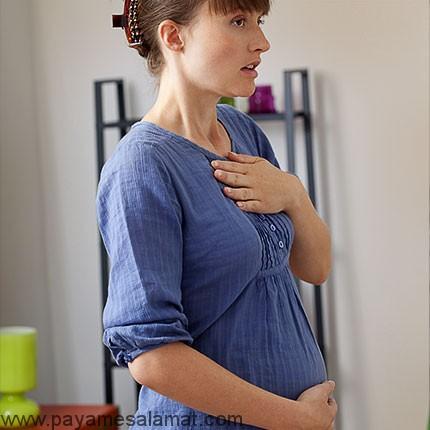 تنگی نفس در دوران بارداری