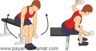 ورزش های مناسب برای آب کردن چربی های زیر سینه
