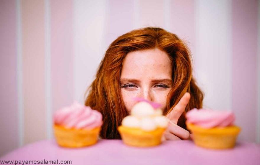 علائمی که نشان دهنده مصرف بیش از حد قند است