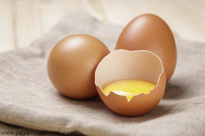 طرز استفاده از تخم مرغ برای تقویت مو