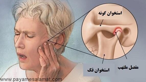 علل درد فک پایین و نشانه های آن