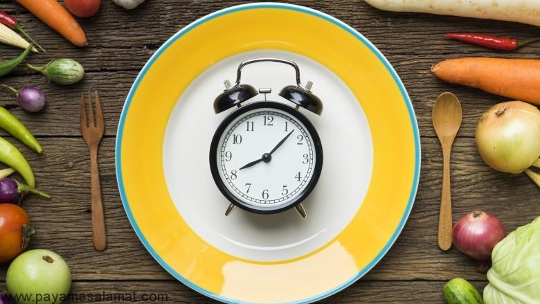 ساعات مناسب صرف وعده های غذایی کدامند؟