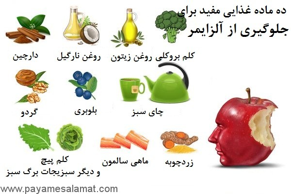 ۱۰ ماده غذایی خارق العاده برای کاهش خطر ابتلا به بیماری آلزایمر
