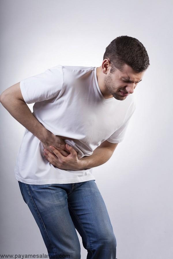 چه چیزی باعث درد شکم و تکرر ادرار می شود؟