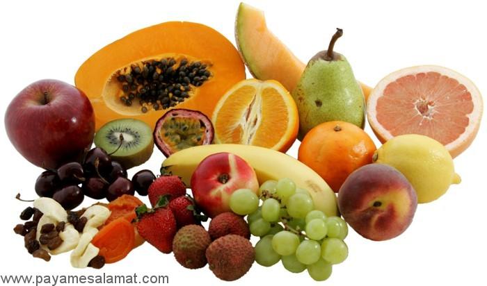 کلسیم میوه ها چقدر است؟