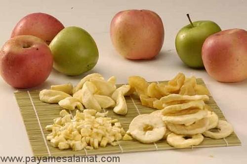 تفاوت ارزش غذایی میوه خشک و تازه