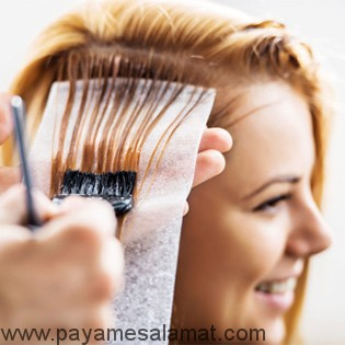 رنگ کردن مو در دوران بارداری