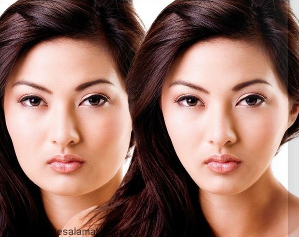 روش های ساده و موثر برای لاغر کردن صورت