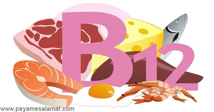 مواد غذایی حاوی ویتامین B12