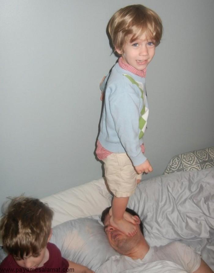 علت نا آرامی و شیطنت کودکان و درمان های اولیه آن